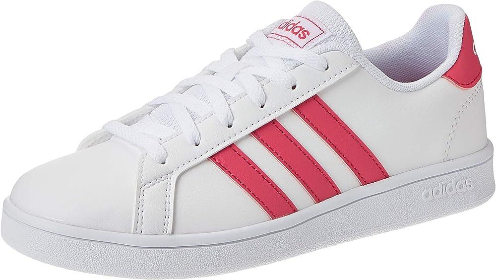 Adidas grand court k, scarpe da tennis unisex FW4575