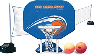 Poolmaster Pro Rebounder Swimming Pool Basketball and Volleyball Game Combo, In-Ground Pool