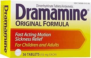 Dramamine 50mg Tablets-36 ct