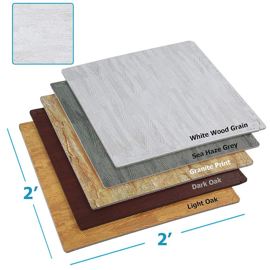 Clevr Interlocking EVA Foam Floor Mat Tiles (24