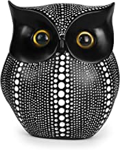 Vilike Owl Decor Statue, Cute Buho Figurines for Crafted Home Decor Accents, Book Shelf Living Room Bedroom Decorations, T...