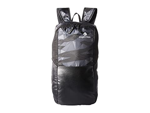 Eagle Sport® Scape Negro Mochila Creek Pack It Geo día de 6YqEp