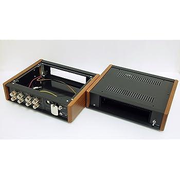 【電匠】部屋 自宅でカーステ カーオーディオが使える 1DIN 用 電源付カーオーディオケース LE802