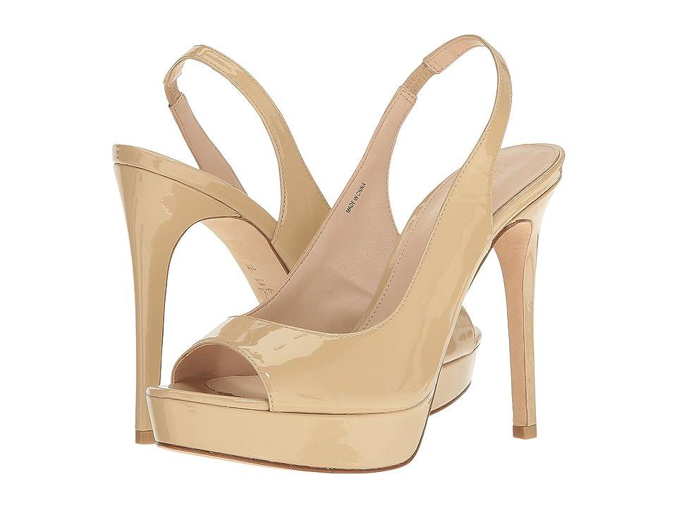 Pelle Moda Oana (Nude Patent) High Heels
