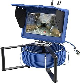 HBHYQ Pantalla táctil de 10 Pulgadas WiFi 23mm HD 1080P cámara de la tubería Industrial de la Costura de con el Contador d...