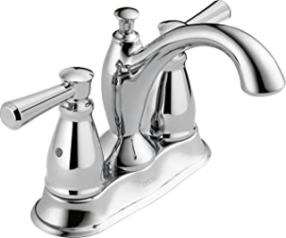 Delta Faucet Linden 2-Handle Centerset Bathroom Faucet with Diamond Seal Technology and Metal Drain Assembly, Chrome 2593-MPU-DST