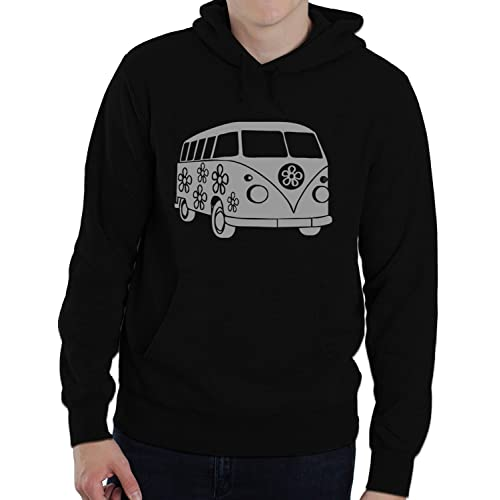 Evolution of Man Split Screen Camper Unisex  Hoodie Hooded top VW S-XXL