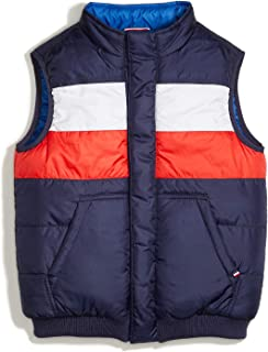 Boys' Adaptive Reversible Puffer Vest with Magnetic Zipper