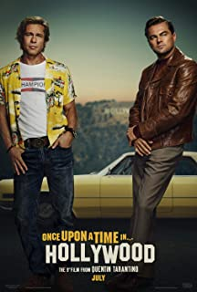 Once Upon a Time in Hollywood A Poster 27x40 Original D/S Movie Poster Quentin Tarantino