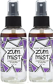 Indigo Wild: Zum Mist Lavender-Lemon Patchouli 4 Fl Oz Set of 2