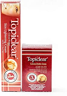 Topiclear Cocoa Butter Skin Lightening Cream & Cocoa Butter Soap 1.76oz