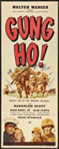 'Gung Ho!': The Story of Carlson's Makin Island Raiders POSTER Movie (14 x 36 Inches - 36cm x 92cm) (1943) (Insert Style A)