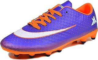 Kobo K-20 Football Sports Shoes -Purple/Orange