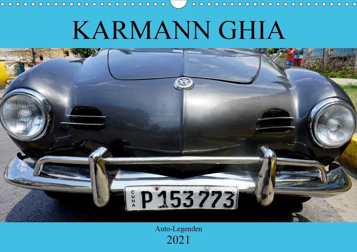 Karmann GHIA - Auto-Legenden Wandkalender quer Regular dealer A3 Popular popular 2021 DIN