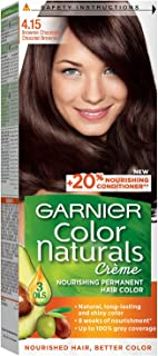 Garnier Color Naturals 4.15 Brownie Chocolate Hair color, 112 ml