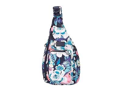 Vera Bradley ReActive Mini Sling Backpack (Garden Picnic) Backpack Bags