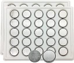 MJKAA 2032 Battery CR2032 Button Cell Batteries DL2032 KCR2032 5004LC ECR2032(50 pieces)