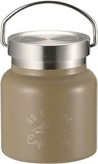キャプテンスタッグ(CAPTAIN STAG) フードポット フードコンテナー 水筒 ダブルステンレスボトル 真空断熱 保温・保冷 HDフードポット 280ml モンテ