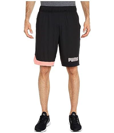 PUMA Collective Color-Block Shorts (PUMA Black) Men