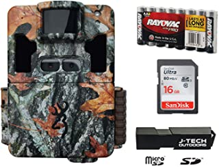 Browning Dark OPS PRO XD Dual Lens Trail Game Camera Complete Plus Package Includes 16GB Card and J-TECH Card Reader (24M...