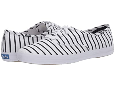 Keds Champion Breton Stripe (White/Navy) Women