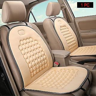HomDSim Autositzauflage mit Massage Funktion, universelle Sitzauflage, Auto Sitzüberzug