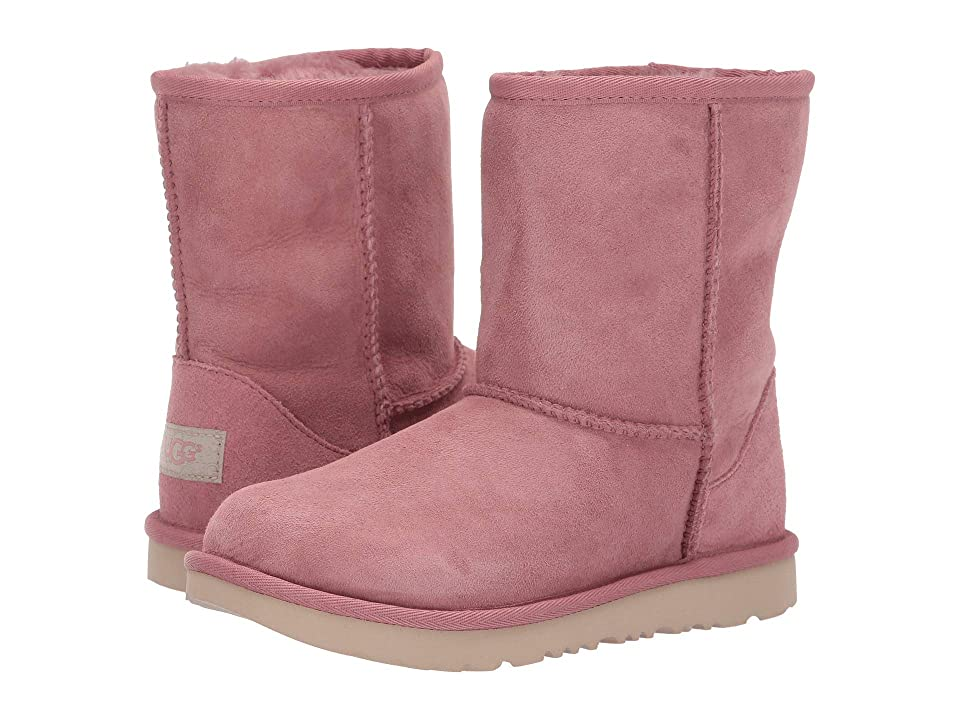 UGG Kids Classic II (Little Kid/Big Kid) (Pink Dawn) Kids Shoes