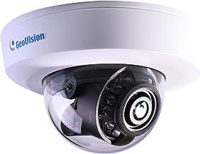 GeoVision GV-EFD4700-0F 4MP H.265 Super Low Lux WDR Pro IR Mini Fixed IP Dome - 2.8mm,White