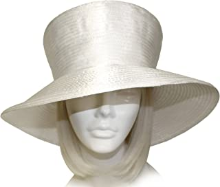 Mr. Song Millinery Factory Closeout: Satin-CRIN Stovetop Crown Wide Brim Hat Body