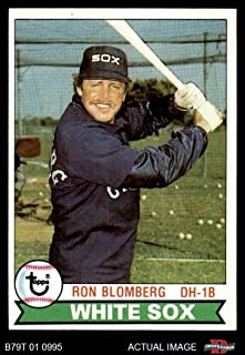 1979 Topps # 42 Ron Blomberg Chicago White Sox (Baseball Card) Dean's Cards 5 - EX White Sox