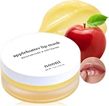 NOONI Applebutter Overnight Lip Mask | Korean Skincare for Cracked Lip Repair | Vegan,..