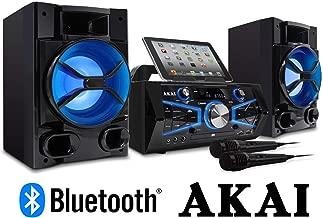 Akai Professional KS5500-BT Karaoke Mini System 150 Watts CD&G with Lightning Effect