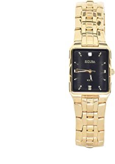 Sicura Watches SAMG2292 Quartz Stainless Steel Gold Tone