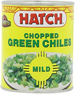 Hatch Mild Chopped Green Chile, 27-Ounce (Pack of 3)