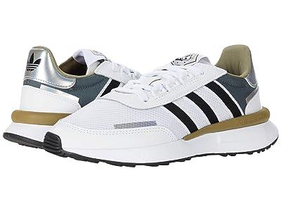 adidas Originals Kids Retroset J (Big Kid) (Footwear White/Core Black/Grey Five) Boys Shoes