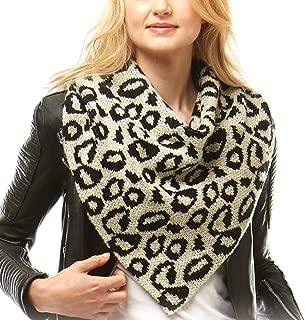Me Plus Women Fashion Solid Color Knit Shoulder Neck Warmer Tube Scarf Wrap with Pom Pom