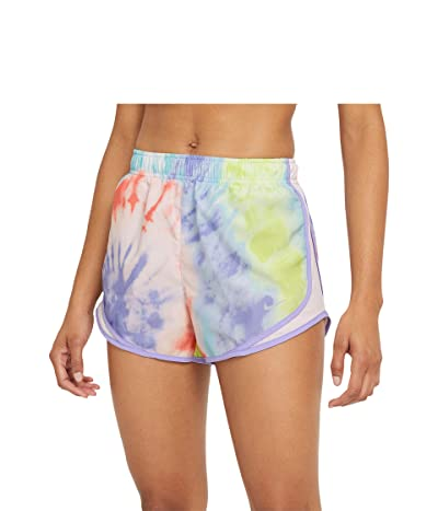 Nike Tempo Shorts Tie-Dye Print (Purple Pulse/Light Violet/Wolf Grey) Women