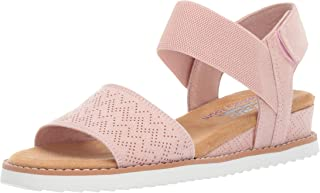 Women's Desert Kiss-Stretch Quarter Strap Sandal Flat