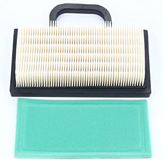 Harbot 698754 499486 499476S 499486S Air Filter 273638 273638S Pre-Filter for Briggs & Stratton 4209 4223 5063B 5063D 5063H Intek Extended Life Series V-Twin 18-26 HP Tractor Lawn Mower