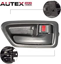 AUTEX Door Handle 91003/91007 Gray Interior Front/Rear Right Side Passenger Side Replacement Handle Compatible with Toyota Camry 1997 1998 1999 2000 20016927733020B0, 69205AA010B0
