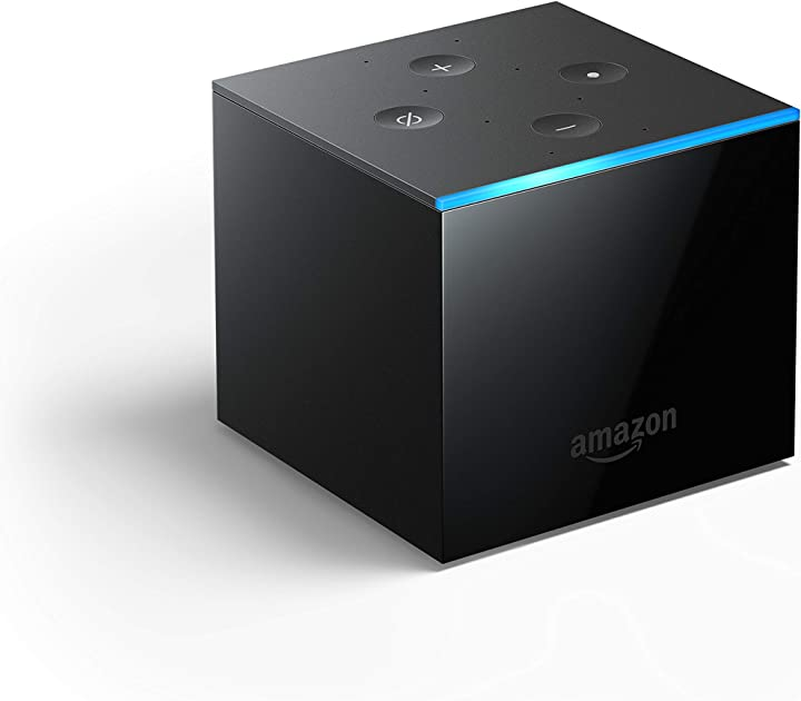 Fire tv cube | lettore multimediale per lo streaming con controllo vocale tramite alexa e 4k ultra hd