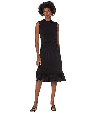 MICHAEL Michael Kors Solid Smocked Waist Dress Women