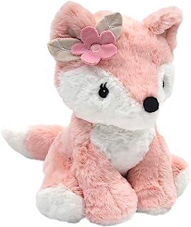 Lambs & Ivy Friendship Tree Plush Pink Woodland Fox - Autumn