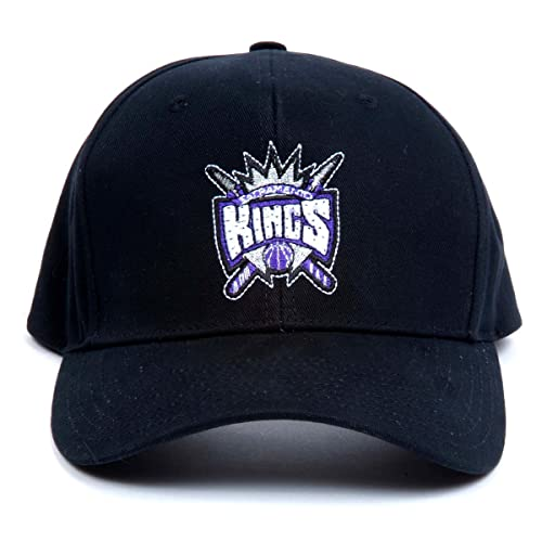 buy popular 994a0 8d2ce NBA Sacramento Kings LED Light-Up Logo Adjustable Hat