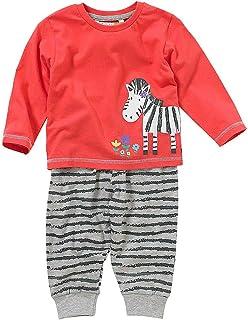 Lullaby Baby Girls Boys Cute Quack Duck Striped Print Pyjamas