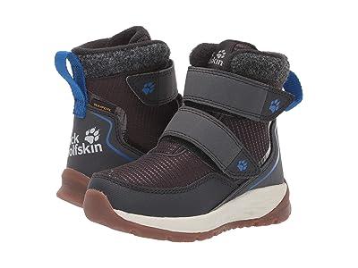 Jack Wolfskin Kids Polar Bear Texapore Mid VC (Toddler/Little Kid/Big Kid) (Phantom/Off-White) Boys Shoes