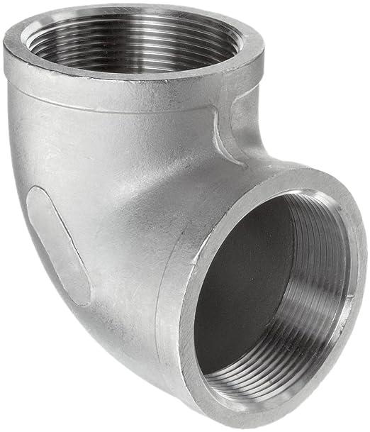 1//2 Male x 1//2 Female 90 Degree Steet Elbow Beduan Stainless Steel Cast Pipe Fittings Water Fuel Air