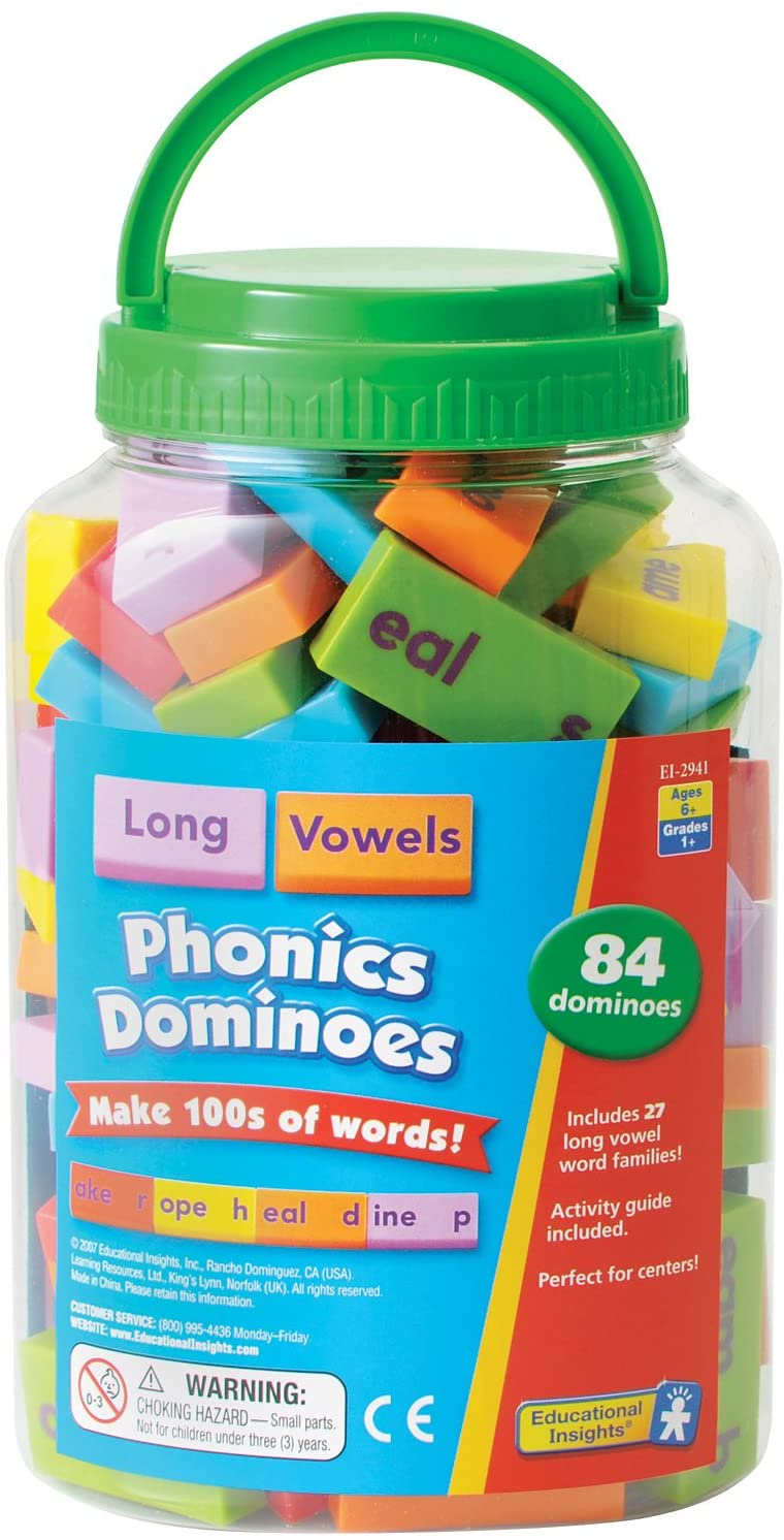 Ranking TOP4 Educational Long-awaited Insights Phonics Dominoes Vowels Vowel Long -
