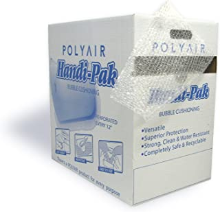 Polyair Handi-Pack HPS12 Durabubble Bubble Cushion Dispenser Style Box, 12