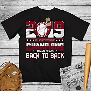 2019 NL East Champions Back To Back Atalanta Baseball Jersey Shirt Customized Handmade Hoodie/Sweater/Long Sleeve/Tank Top/Premium T-shirt